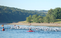 Ironman 70.3 UK, Exmoor - Wimbleball Lake