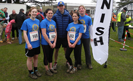 RCFs RGW 10K Run 2013 - Stalbridge Pre-school Team